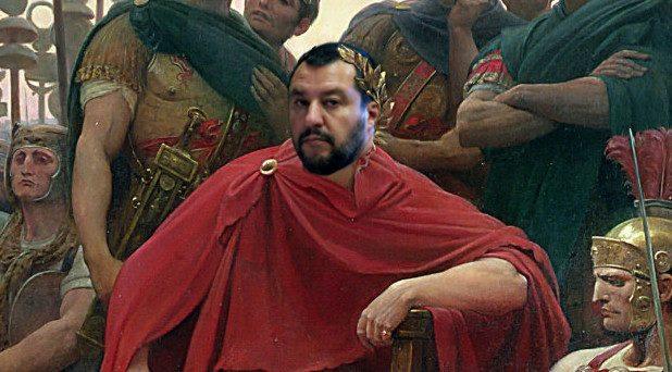 Matteo Salvini imperatore d'Italia