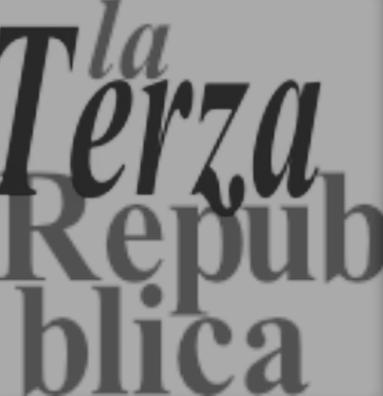 La fine della terza Repubblica